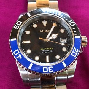 AUDAZ SEA RANGER AUTOMATIC STAINLESS WATCH